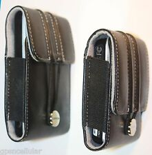 "Garmin Leather Carrying case for all 3.5"" & 4.3"" Garmin GPS models 010-11305-01"