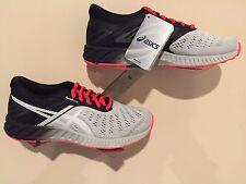 ASICS Men's Shoes fuzeX Lyte Light Gray/Flash Coral - Size 7
