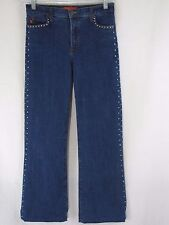 New AUTHENTIC NYDJ Women's Tummy Tuck Jeans with Embellishment Size 4    B4