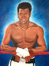 Ali on the ropes by David Putland - A3 Limited edition Prints - Boxing Art