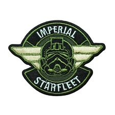 Disney Star Wars Imperial Starfleet Patch Officially Licensed Iron On Applique