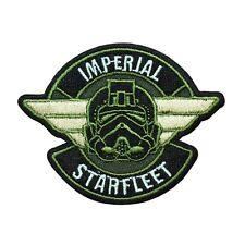 "Star Wars Empire ""Imperial Starfleet"" Iron-On Patch Tie-Fighter Pilot Applique"
