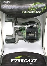 Evercast By Ardent Fishouflage Camouflage Baitcasting Fishing Reel Left-Handed