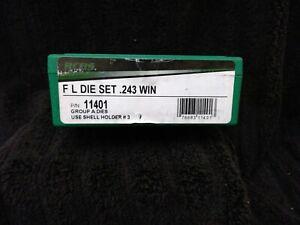 RCBS 243 Win Die Set - New!