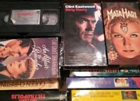Lot Of 25 VHS V128 Miscellaneous Genres Dirty Harry Natl Geo & More!