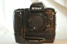 Nikon N90s F-90X film SLR camera with MB-10 Vertical Grip WORKING