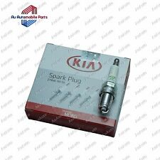 Genuine Kia Rio (2000-02) Carens (all) Spark Plugs (x4) Part 27400 18110