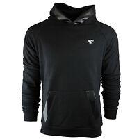 Brand New Men's Black Hooded Armani Sweatshirt Long Sleeves Size S M L XL XXL
