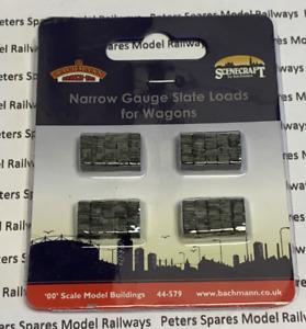 Bachmann 44-579 Narrow Gauge Slate Loads for Wagons OO9 Gauge