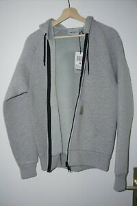 Carhartt Car-Lux Jacke mit Kapuze Gr. M Grau NEU mit Etikett