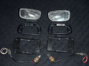 JDM Nissan Skyline Infiniti Maxima FRONT BUMPER CORNERING INTERSECTION LIGHT OEM