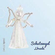 "Bastel-Set - Schutzengel ""Ursula"" weiss-gold - ca. 7,1 cm"