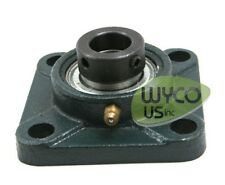 "Four Bolt Flange Assembly F205 W/ 205-16 Bearing, 1"" Axle, New, Always In Stock"