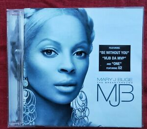 Mary J. Blige ‎ MJB – The Breakthrough CD Geffen 2005 17 track album  good used