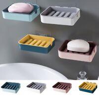 Seifendose Seifenschale Seifenhalter Seifenbox Saugnapf Badezimmer Küche Mode