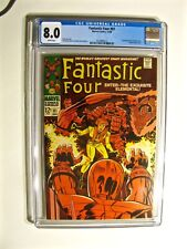 Fantastic Four #81 (Marvel December 1968) CGC 8.0 WHITE Pages Crystal Joins Team
