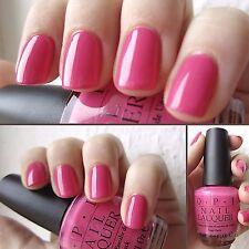 OPI ~STRAWBERRY MARGARITA~ Bright Hot Pink Cream Nail Polish Lacquer .5 oz New!!