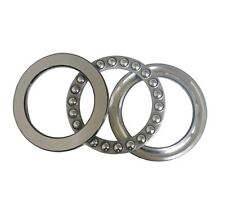 75mm(ID) x 100mm(OD) x 19mm(Thick)s 51115 Axial Ball Thrust Bearing