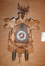 German made working Large Case Schatz Hunter 8 Day Cuckoo Clock CK1510A
