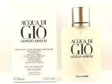 Giorgio Armani Acqua Di Gio 100ml 3.4fl oz Cologne Full Size New Sealed In Box