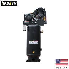 5hp Reciprocating Air Compressor 230v60hz 60 Gallon Vertical Tank 14cfm175psi