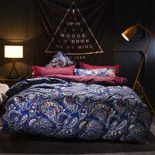 5 Pcs Luxury Gusta Pattern Bedding Comforter Set Soft 100% Polyester, King Size
