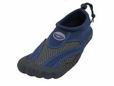 "Mens ""Barefoot"" Water Shoes/Aqua Socks Pool Beach Surf Exercise Slip On"