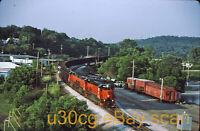B&LE Bessemer & Lake Erie SD45T-2 907 Butler, PA 2003 - Original slide