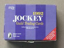 1992 Jockey Star Guild Trading cards 300 cards set