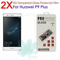 2Pcs 9H Premium Tempered Glass Film Cover Screen Protector For Huawei P9 Plus