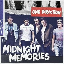 One Direction 1d Midnight Memories 2013 CD