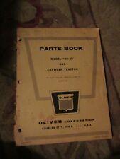 Oliver 0C3 parts instruction Vintage Tractor Manual book