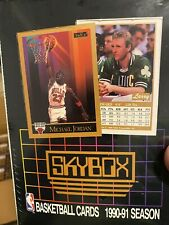 1990-91 Skybox Basketball Series 1 Factory Sealed Box 36 packs. Just opened!