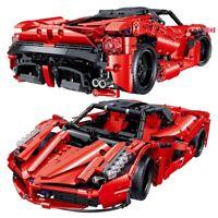 Car Vehicle Model Speed Bricks Technical City Building Racing Toys Blocks Kids