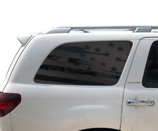 Distressed USA Flag Decal for Toyota Sequoia TRD Pro American Side Window BR3