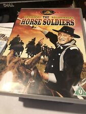 john wayne the horse soldiers (excellent) R2 dvd free postage uk