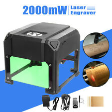 2000mW Desktop Laser Machine de gravure Logo Marquage Graveur Engraving Graver