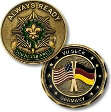 U.S. Army / 2nd Cavalry Regiment, Vilseck Germany Challenge Coin