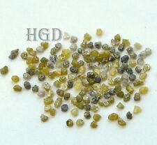 10 Monitores Crt + 2.20mm Gris Amarillo Suelto diamantes en bruto 100% natural sin cortar crudo £ 37.99!