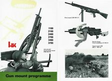 Heckler & Koch c1971 Machine Gun Mounts
