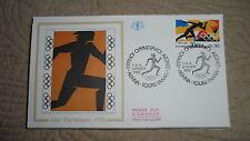 FDC Enveloppe Premier Jour - CEF - Jeux Olympiques Grèce - 03/04/1992 - Tours