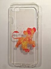 Disney Lion King Simba Clear Silicone Gel Case For iPhone 7 Or 8