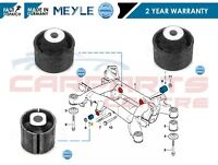 FOR BMW 5 SERIES E39 96-04 FRONT REAR LEFT RIGHT AXLE BEAM MOUNT BUSH BUSHES SET