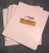 Tap FV-80 White 8x10 Leaves Album Pages, 5 paks of 6 pages per pack New