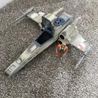 Star Wars X Wing Star Fighter Vintage 1997 With Luke Skywalker Lucas Film LTD