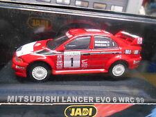MITSUBISHI Lancer EVO VI 6 WRC Rallye #1 Mäkinen 1999 NZ New Z Jadi IXO 1:43