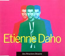 Etienne Daho Maxi CD Des Attractions Désastre - France (M/EX)