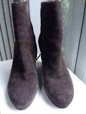 PRADA Wedge ancle suede boots Size 6.5