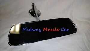 hardtop rear view mirror & bracket 64 65 Chevy Chevelle Pontiac GTO Olds 442