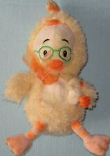 Disney Chicken Little in Chick Costume Holding Baby Duck Plush Soft Toy